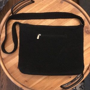 The Sak 👜 Woven Black Shoulder Bag